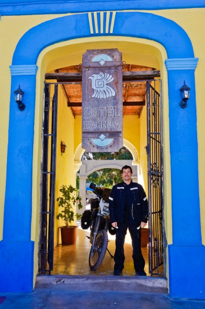 Saying goodbye to Hotel Hacienda in Mulege