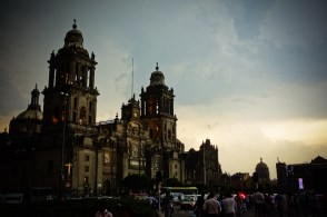 Just a sample of the dramatic architecture around Mexico City