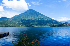 In Guatemala there is always a volcano nearby
