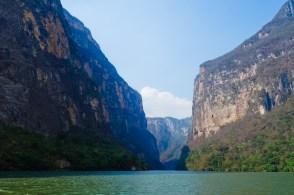 The Grand Canyon's little cousin in Mexico, Cañon de Sumidero