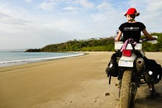 Enjoying the Costa Rican beaches