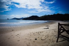 The unspoiled sands of playa Marsella
