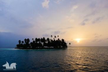 Sunset over San Blas