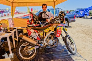 The Wolf is now tormented by dreams of Dakar. Troubles ahead