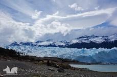 The Perito Moreno glacier.