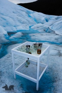 Whiskey on the rocks anyone? Yes we thought it was pretty cheesy but we did it nevertheless.