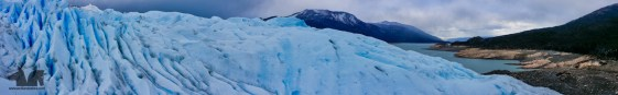 It is hard to find the words to describe the magnificence of a whole river of ice collapsing into the Argentino Lake