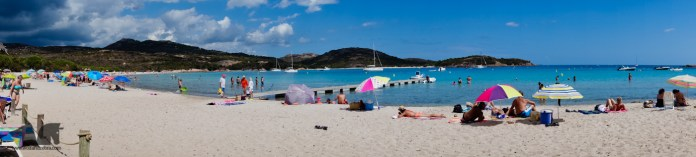 Rondinara beach, one of the most popular spot this side of the Island