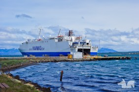 The rather impressive Navimag, a Corsican ferry exiled in Chile.