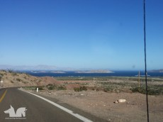 2 days and 23 hours of driving later, Bahia de Los Angeles, our basecamp for this trip is finally in sight