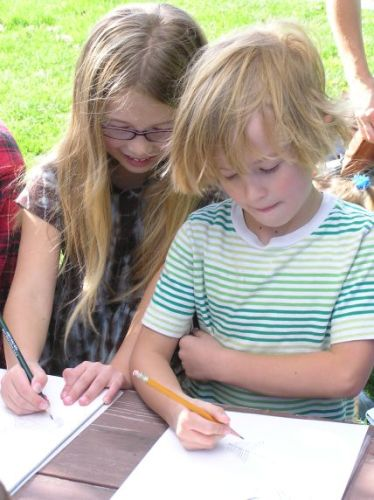 Mt. Vernon Homeschool Class Learns Navigation, Wildlife Tracking, Herbal Medicine, Awareness Skills and More