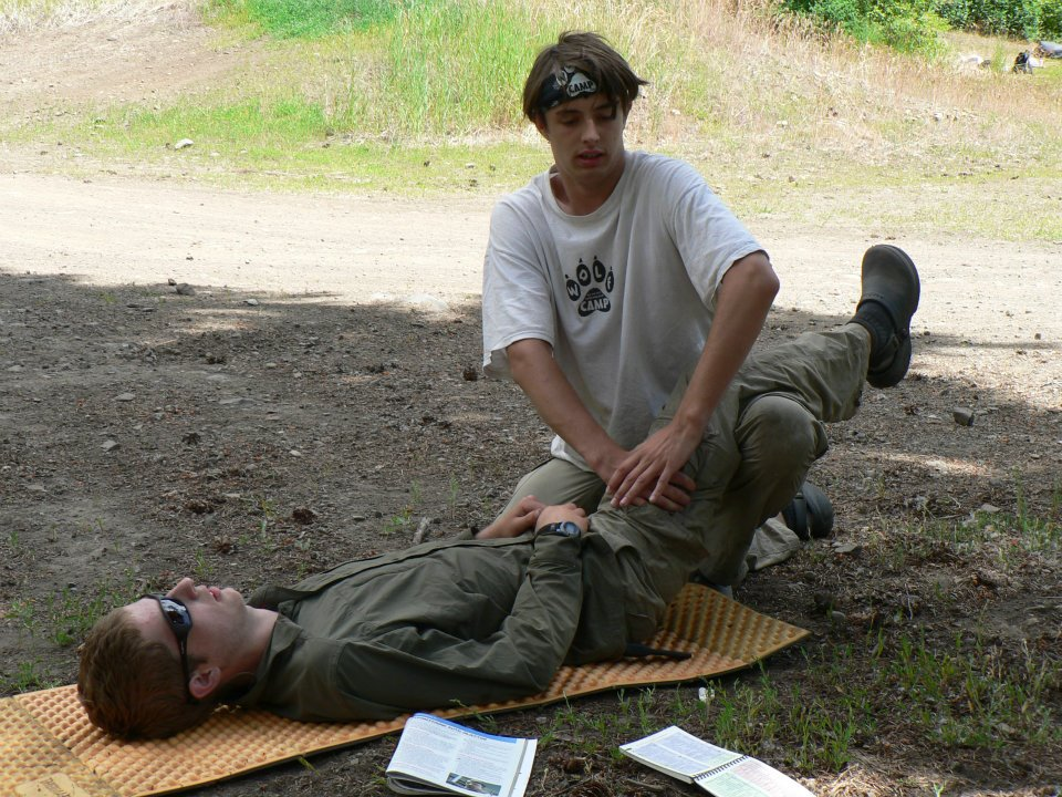 Learning Wilderness Medicine