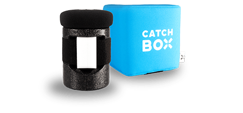CATCHBOX il microfono lanciabile per il coinvolgimento del pubblico