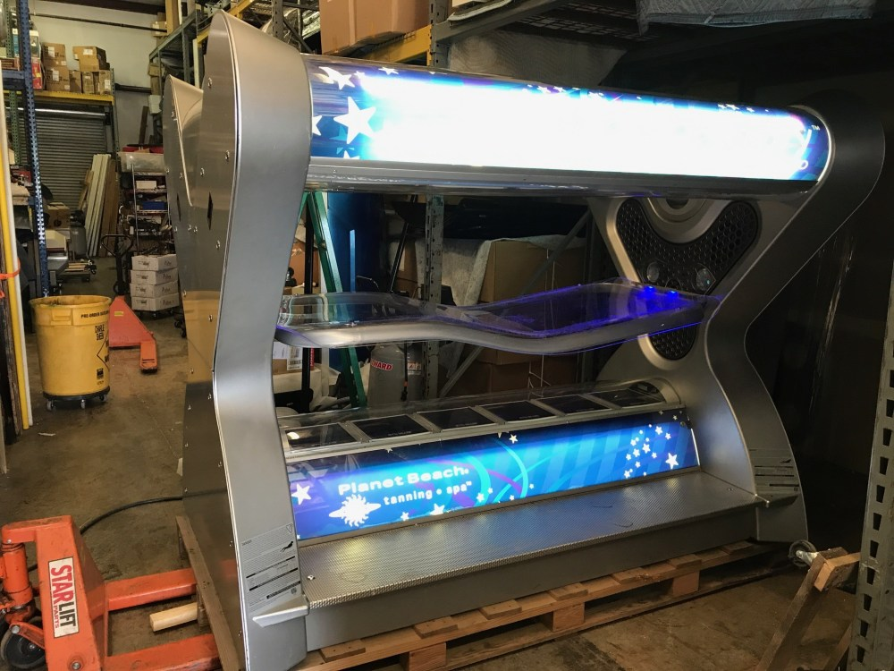 medium resolution of wolff tanning used high pressure units 2007 velocity hp1000 ultra pressure tanning bed