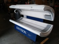 Wolff Tanning > Used - 30 to 40 Lamp Beds > 2010 Sunvision ...