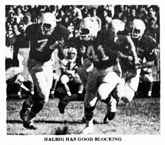 Halbig has good blocking