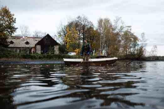 Im Haslauer Teich bei Heidenreichstein im nördlichen Waldviertel werden jeden Herbst heimischen Speisefischen in Bioqualität abgefischt. Fotoreportage über Fischen, Reportage Fotograf Wolfgang Lehner based in Linz Austria