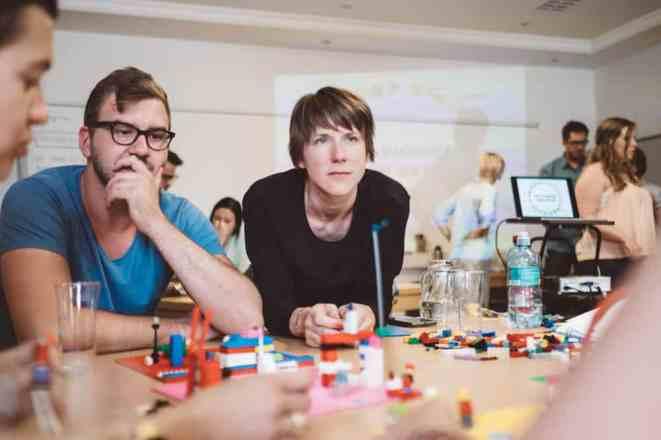 Fotoreportage über einen Workshop in Freistadt. Studenten erarbeiten mit der Methode Lego® Serious Play® für ein Tourismusprojekt