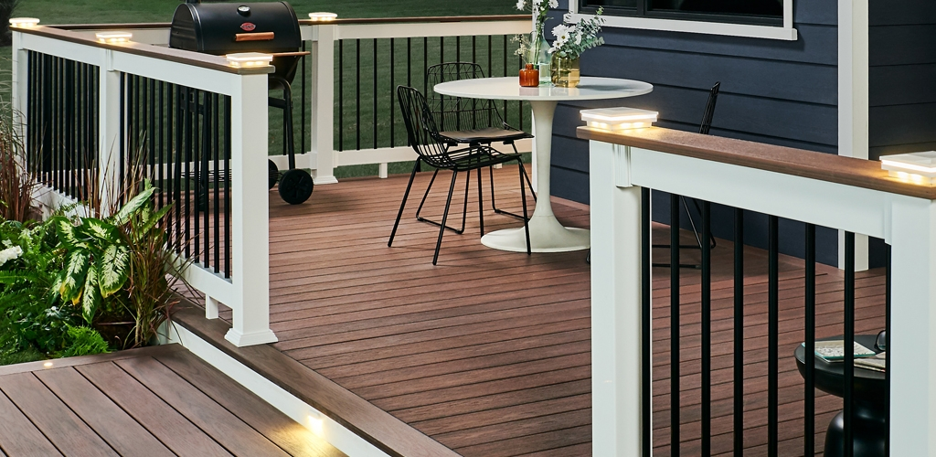 Wolf Deck Porch Railing Systems Wolf Home Products   Metal Handrails For Decks   Patio   Decking   Fence   Pool Deck   Vertical Metal