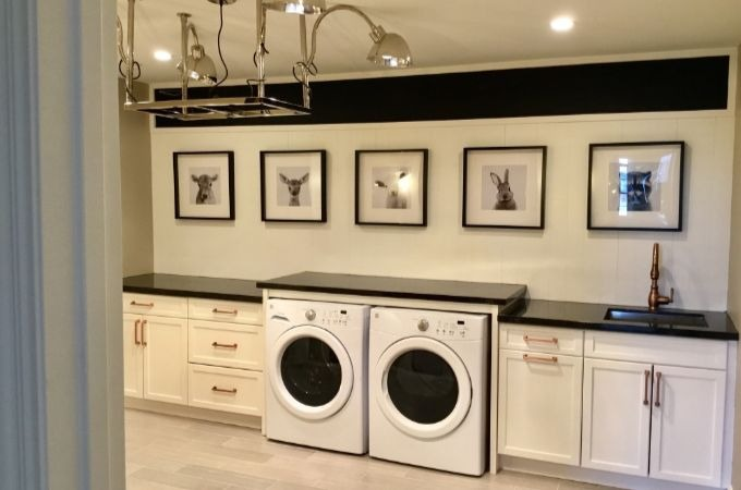 creating a functional laundry room