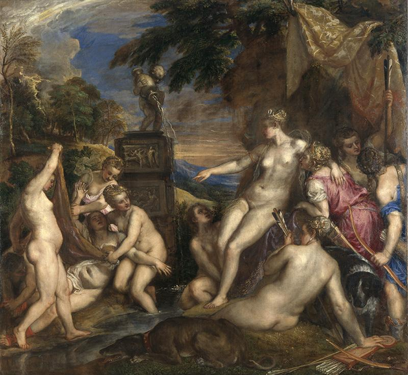 Titian's Nudes are the subject of my new Fibonacci poems.