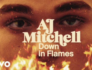 down in flames - aj mitchell - indie music - indie pop - new music - music blog - wolf in a suit - wolfinasuit - wolf in a suit blog - wolf in a suit music blog