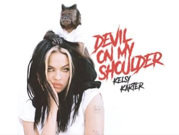 devil on my shoulder - Kelsy Karter - usa - indie rock - indie music - new music - music blog - indie blog - wolf in a suit - wolfinasuit - wolf in a suit blog - wolf in a suit music blog