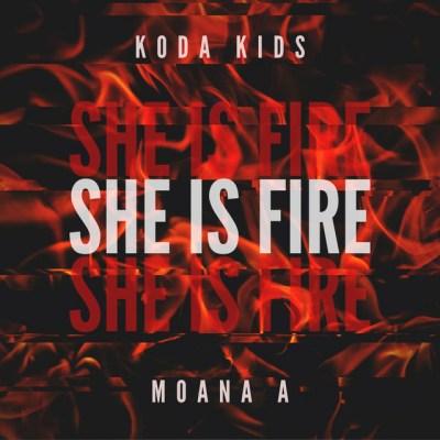 she is fire - koda kids - moana a - saint martin - indie - indie music - indie rock - indie pop - new music - music blog - wolf in a suit - wolfinasuit - wolf in a suit blog - wolf in a suit music blog