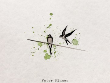 paper planes - elina - Sweden - indie music - new music - indie pop - music blog - indie blog - wolf in a suit - wolfinasuit - wolf in a suit blog - wolf in a suit music blog