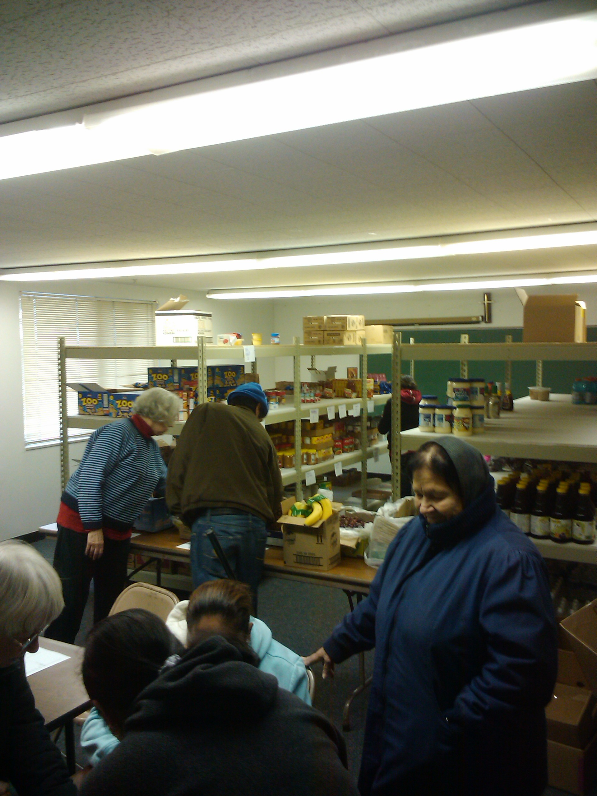 Hope Lutheran Church Food Pantry Opening World Wide