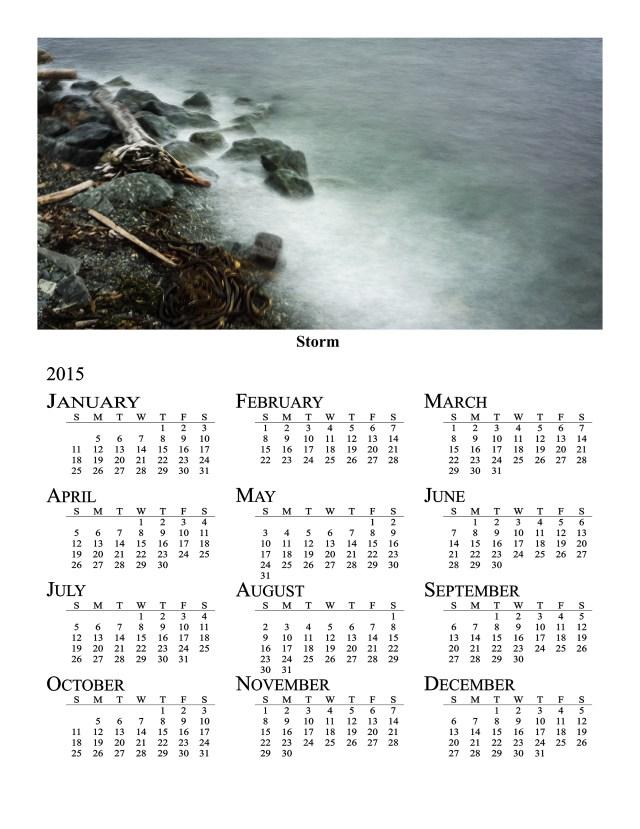 2015 Annual Photo Calendar