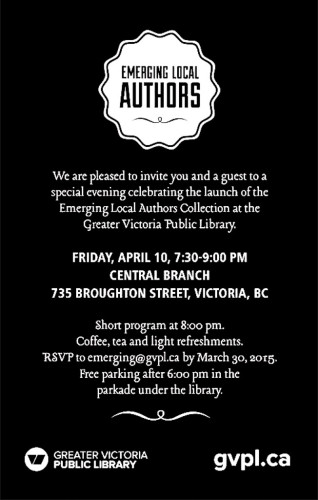 GVPL Emerging Local Authors Book Launch