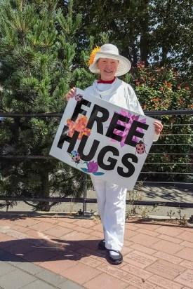 Marcia, the Consummate Hugger