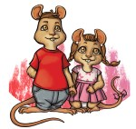 Timothy and Squeaky