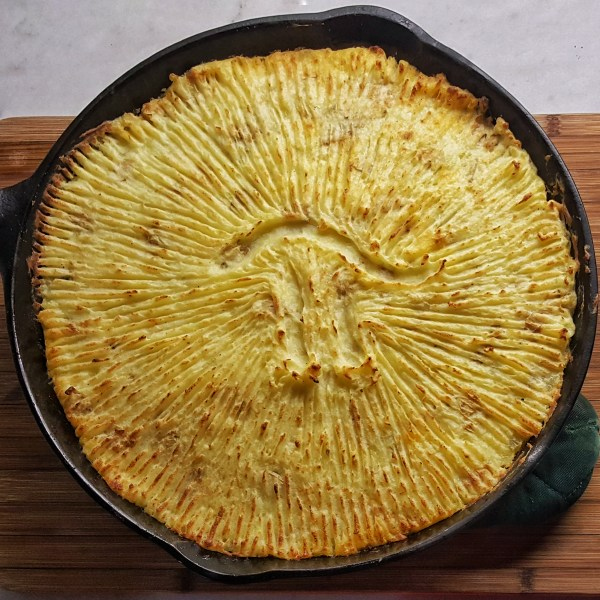 Cast Iron Shepherd's Pie