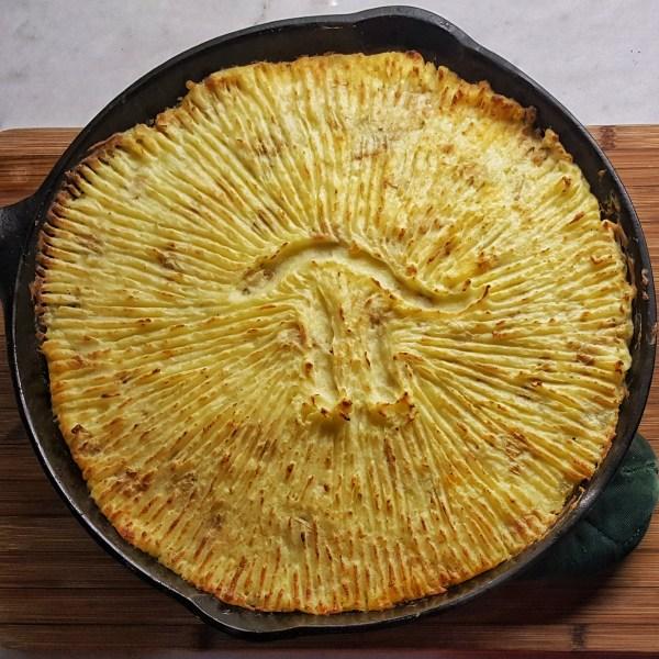 Cast Iron Shepherd's Pie