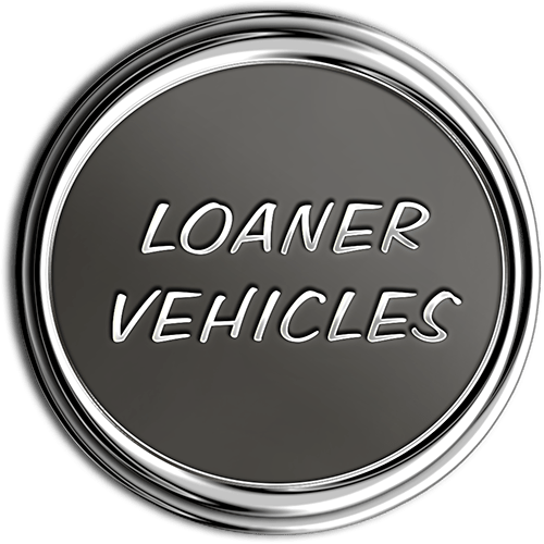 Loaner Vehicles Chrome Medallion