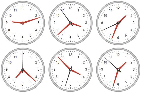 Clocks: New in Mathematica 9