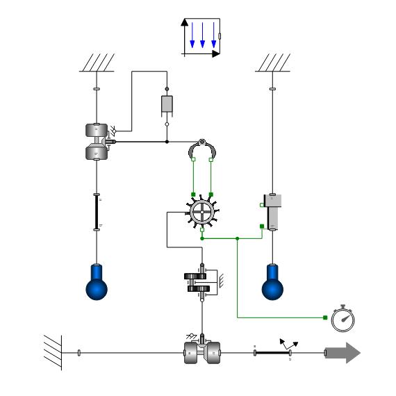 Pendulum Clock—SystemModeler Model