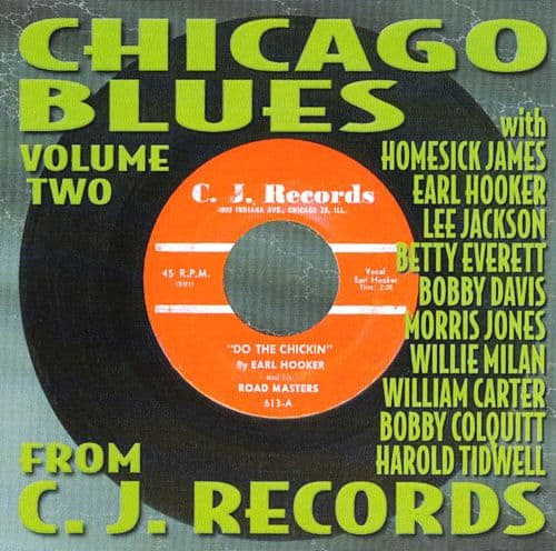 120282 Chicago Blues from the Vaults of C. J. Records 2