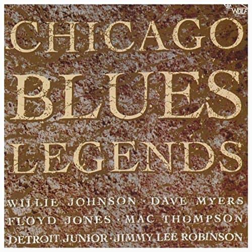120863 Chicago Blues Legends Various Artists