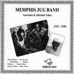 WBCD004 Memphis Jug Band Associates   Alternate Takes 1927 1930