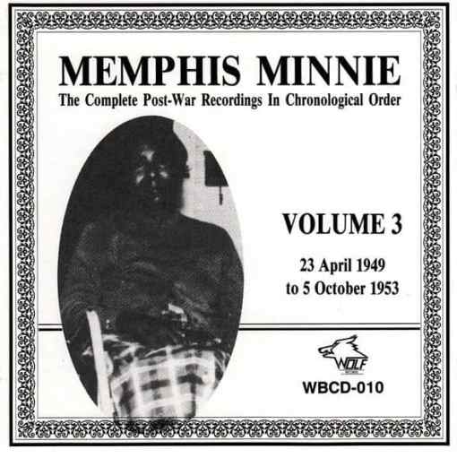 WBCD010 Memphis Minnie Complete Recordings Vol. 3
