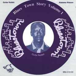 WBJ013 Alabama Watson   Guitar Nubbit Blues Town Story Vol. 1