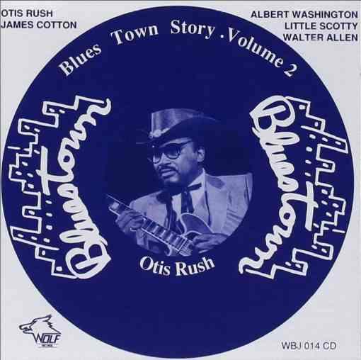 WBJ014 Blues Town Story Vol. 2 Various Artists