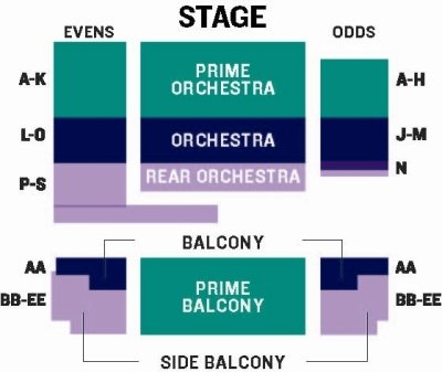 Opera seating chart wolf trap also the barns at rh wolftrap