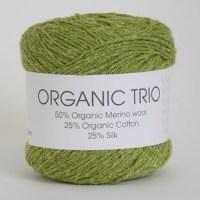Organic Trio Hjertegarn
