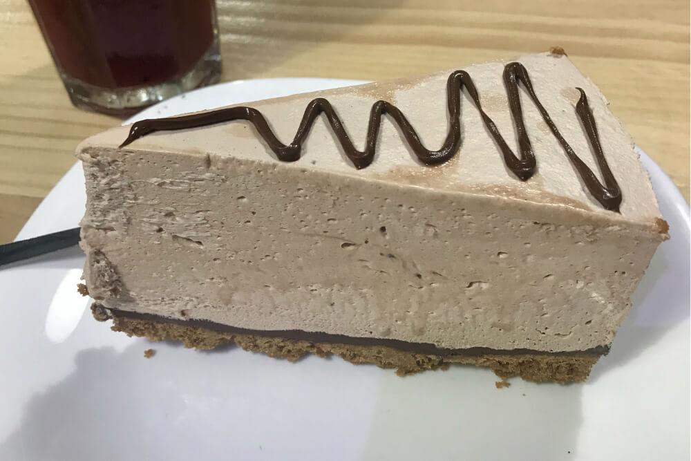 Manger à Madrid : Cheesecake Nutella