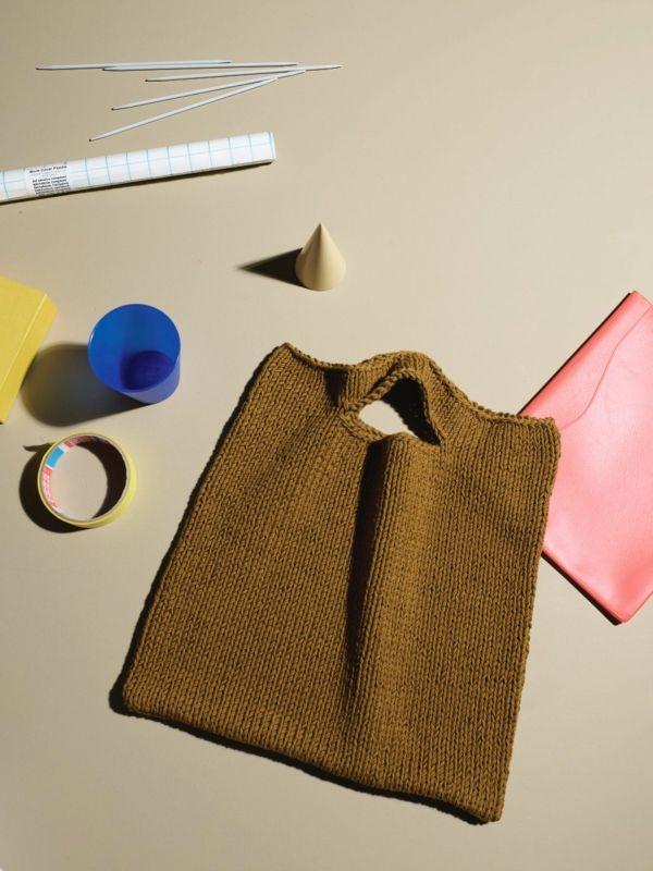 Rauma knitting kit for Bag