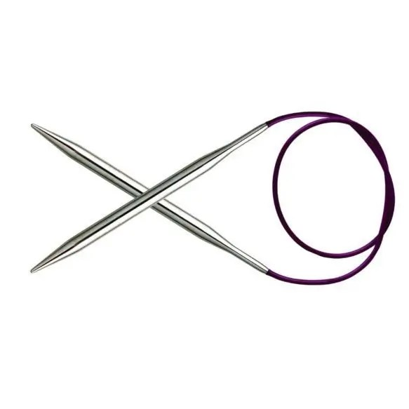 Knitpro Nova metal knitting needles, circular 2,5